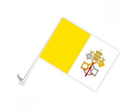 Papal (Vatican City) Car Window Flag