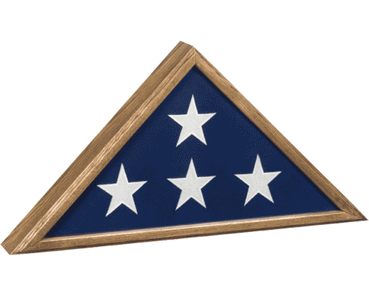 """Memorial Case """"Veteran"""" oak"""