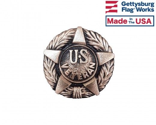 US Veteran Medallion-3""