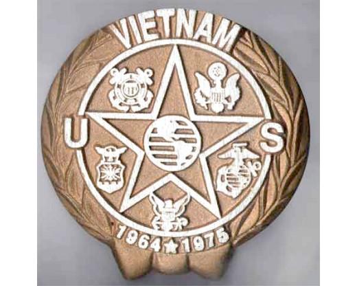 Vietnam Aluminum Grave Marker