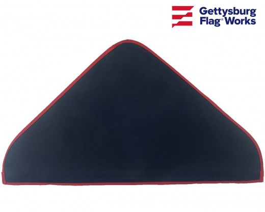 Vinyl Flag Cover, Triangle Case Soft Plastic