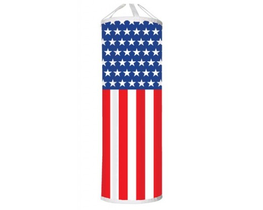 Patriotic Advertising Pole Banners
