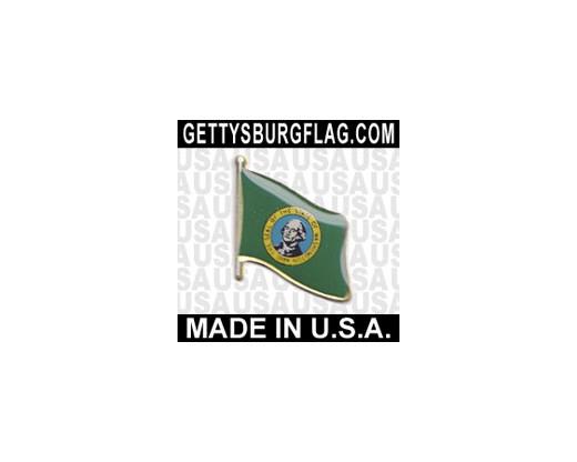 Washington State Flag Lapel Pin