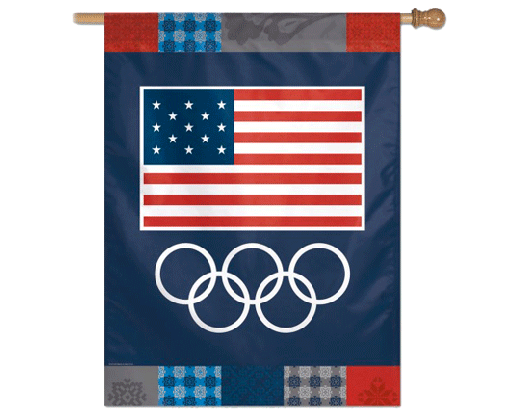 USOC Olympic Rings Banner