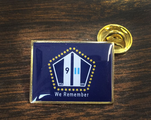 "NYS 9/11 ""We Remember"" Lapel Pin"