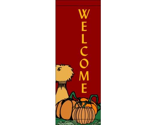 Welcome Pumpkin Avenue Banner