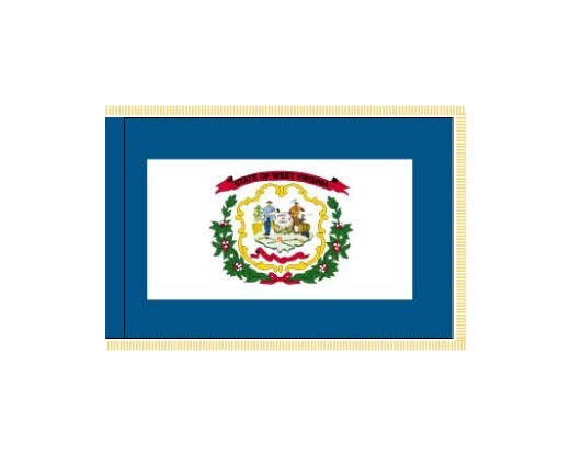 West Virginia Flag - Indoor