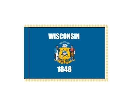 Wisconsin Flag - Indoor