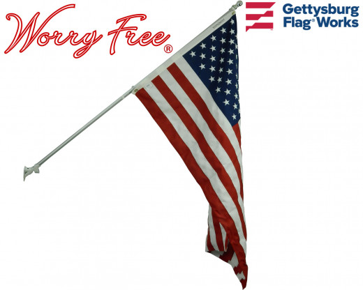 Worry-Free American Flag Set