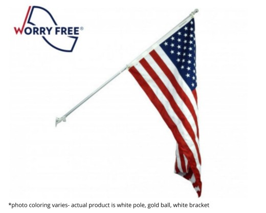 Worry Free American Flag set