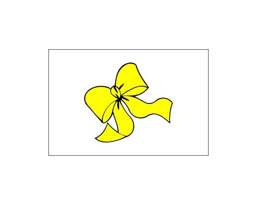 Yellow Ribbon Flag - 3x5'