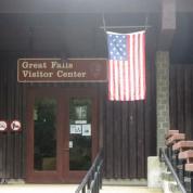 Great Falls Park's 15-star flag