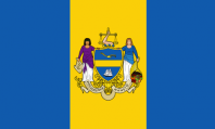 Philadelphia's city flag