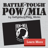 Battle-Tough POW/MIA Flags
