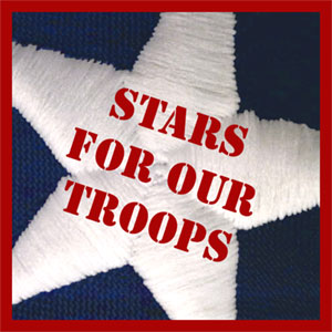 American Flags Stars for our Troops