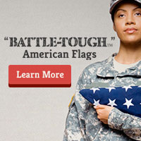 Battle-Tough American Flags