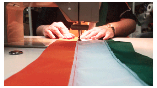 Hand-made Irish Parade Sash