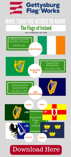 Flag of Ireland Infographic