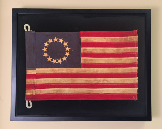 Framed Flag