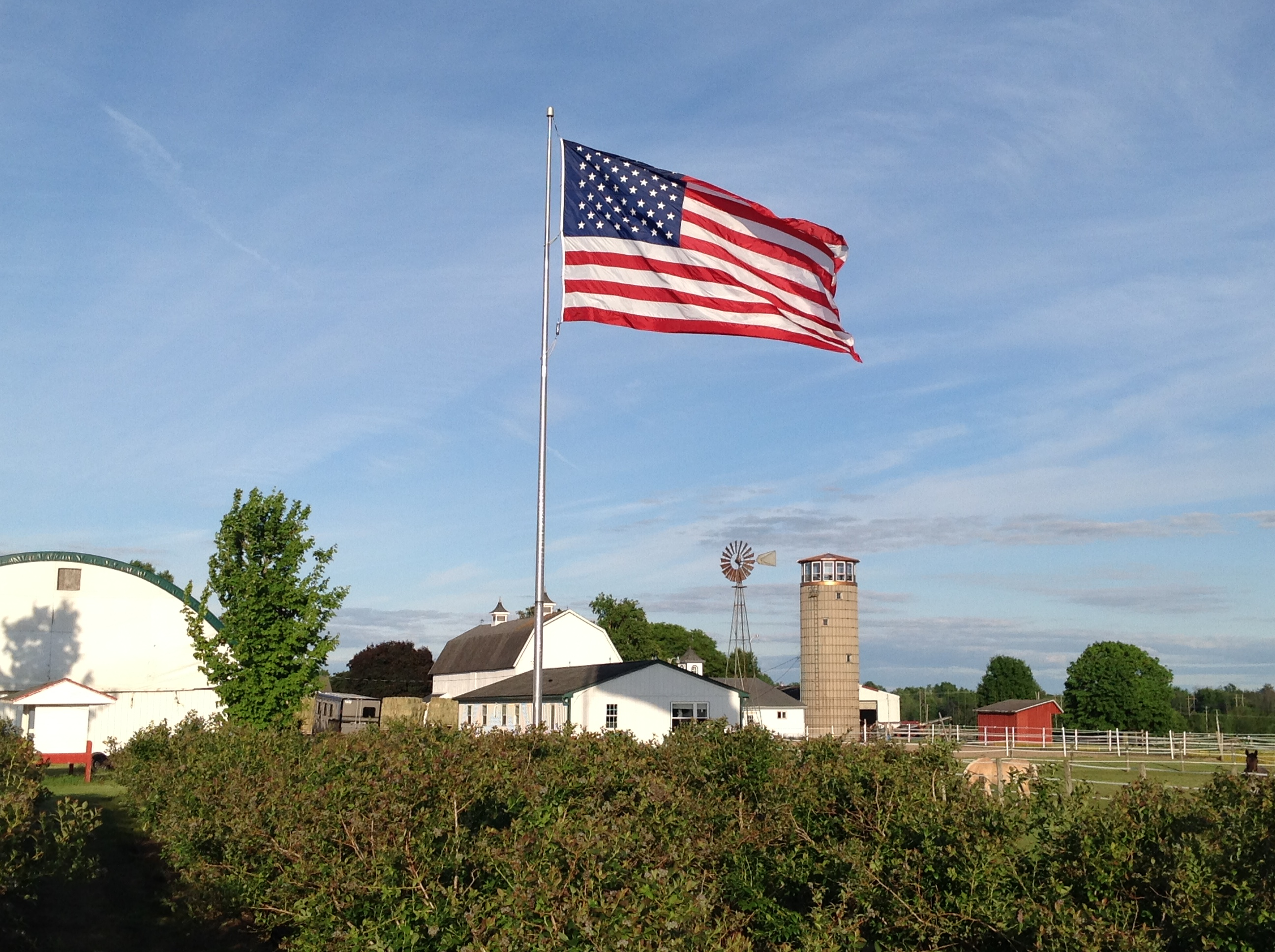 Large Outdoor American Flag