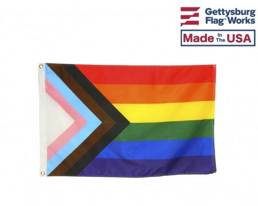 Pride Progress Flag