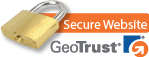 GeoTrust secure checkout