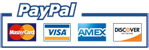 Major Credit Cards and PayPal accepted
